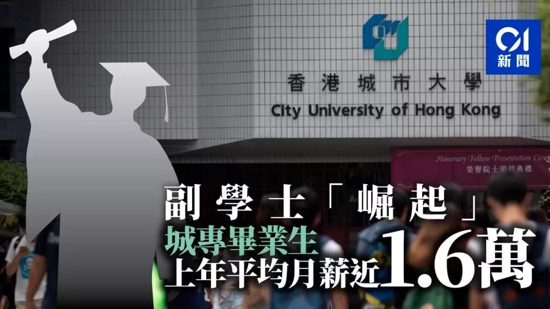 香港留学毕业起薪大揭秘,这些行业最吃香……