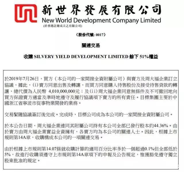 香港地产大户捐献300万尺土地建房