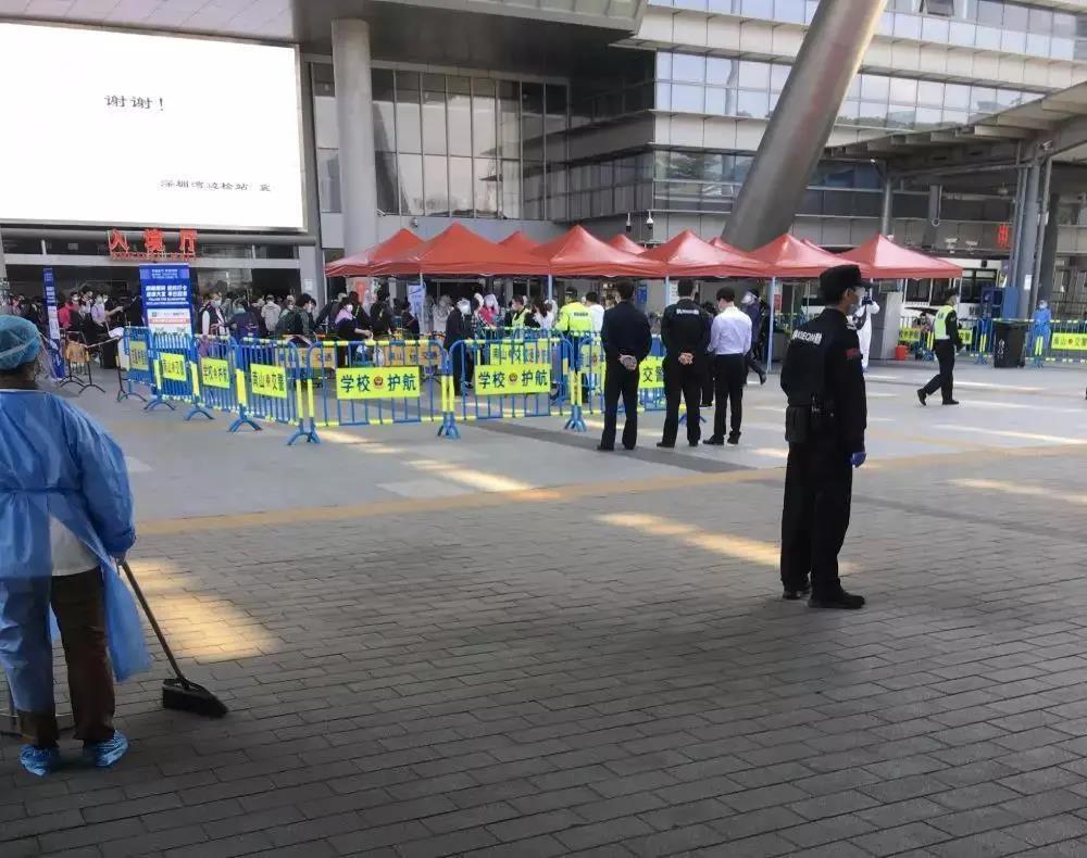 深圳湾口岸现状:核酸检测严格,通关请预留3小时!