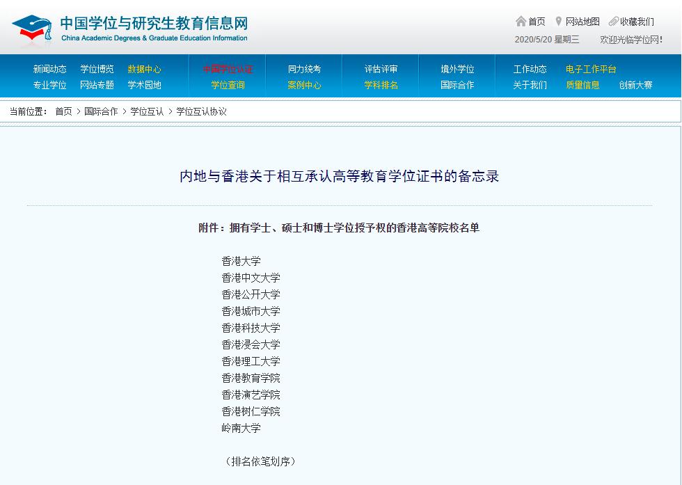 香港留学因为这些优势,成了2020的热门