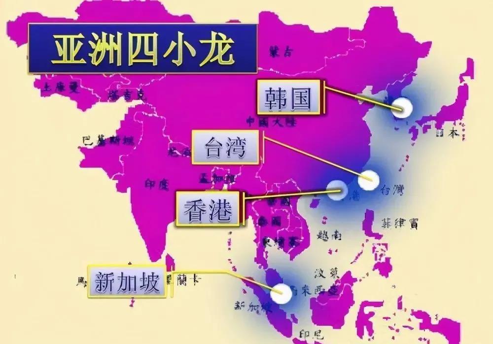 """""""亚洲四小龙""""上半年GDP对比,创历史新低,香港最惨?"""