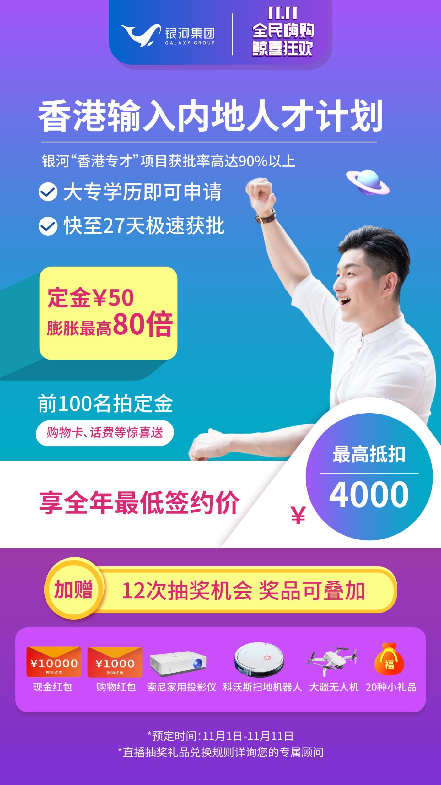 香港专才成功案例 | 乘上开拓内地市场的东风,50天快速获批!