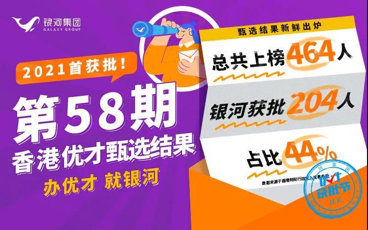 香港优才58期甄选结果数据+案例解析,附优才获批攻略